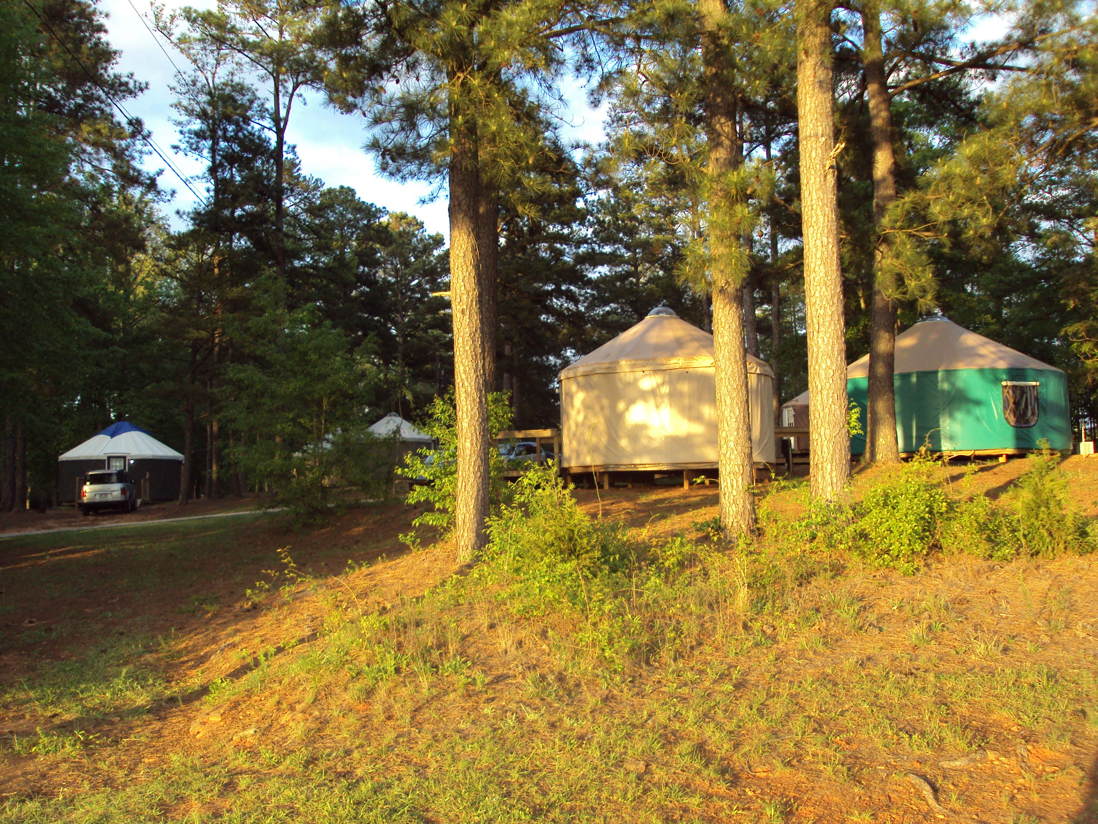 Yurts @ Pine Mountain RVC Outdoor Destinations (With ...