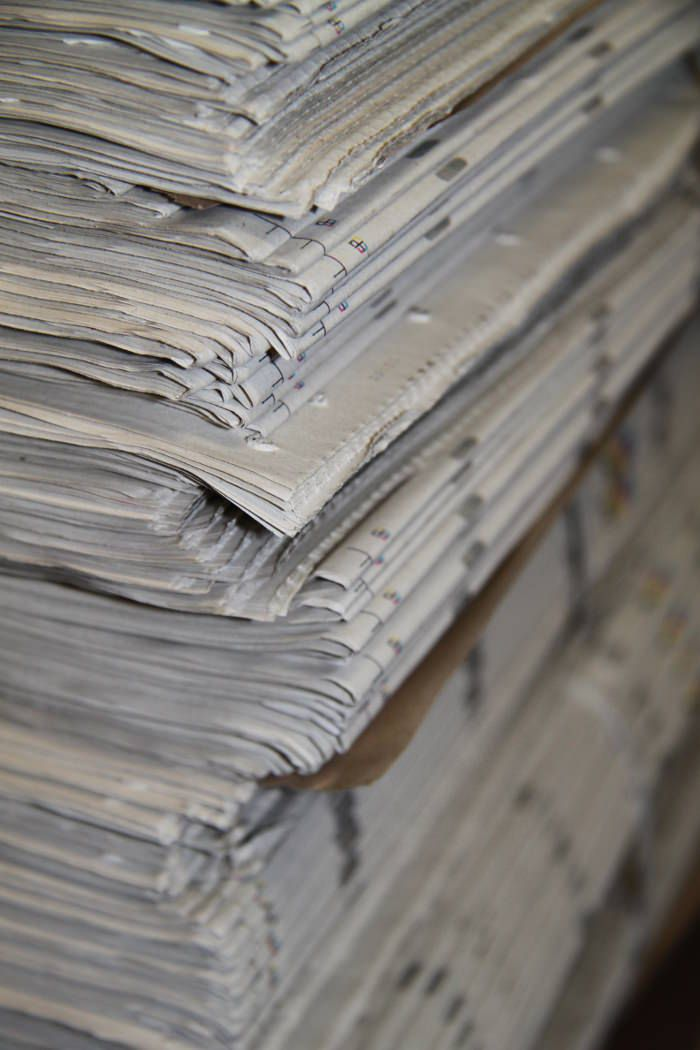 New Hybrids Chaise En Papier Newspaperwood Mieke Meijer Design