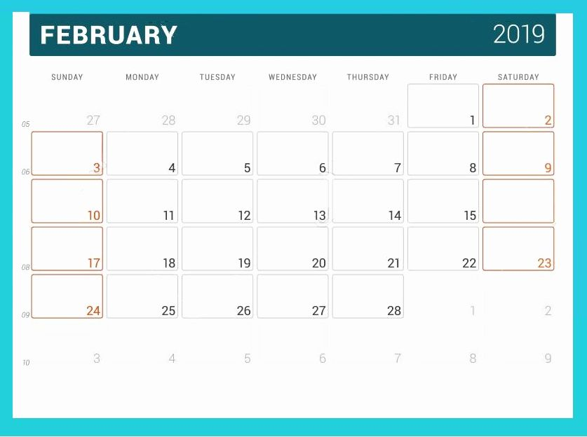 February 2019 Monthly Desk Calendar #february #February2019Calendar