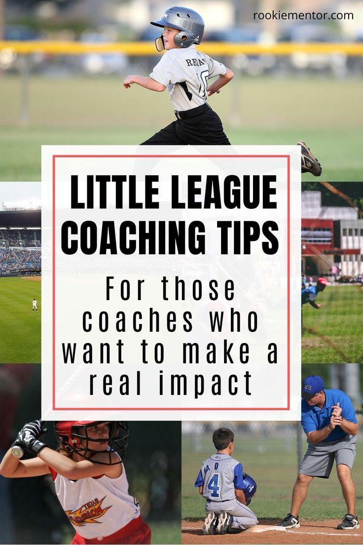 How Do You Become A Successful Little League Coach Rookie Mentor In 2020 Little League Sports Coaching Ideas Coaching Youth Sports