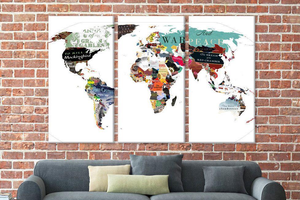 World map canvas world travel map custom world map world map world map canvas world travel map custom world map world map abstract large canvas print world map world wall map detailed map wall art gumiabroncs Image collections