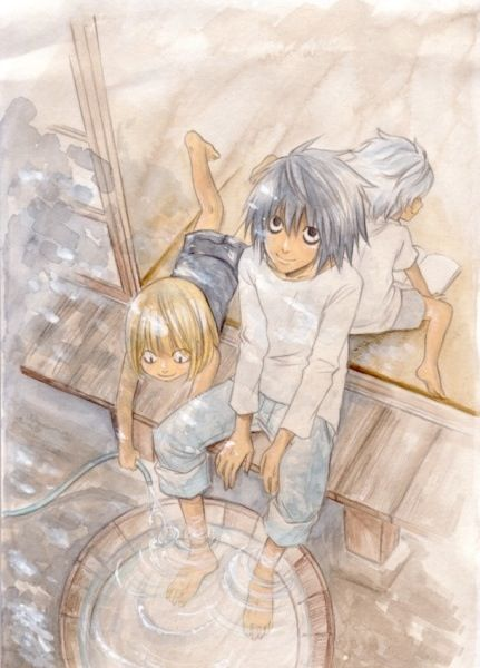 L, Near, and Mello, so cute!