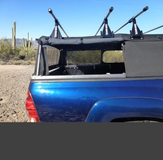 Toyota Camper Shells: Can-Back Premium Canvas Truck Camper Shell