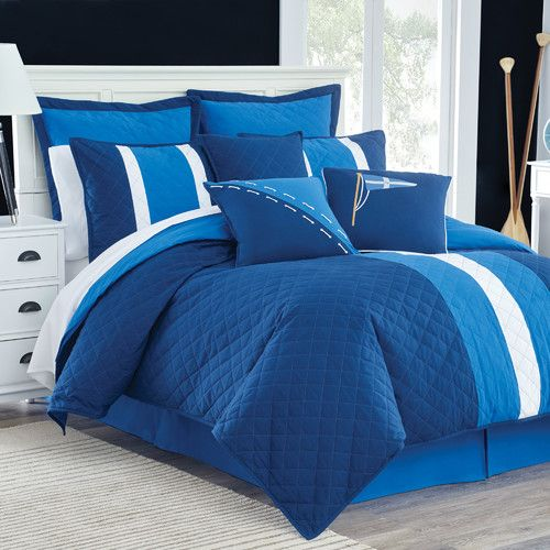 Yacht Club Reversible Comforter Set