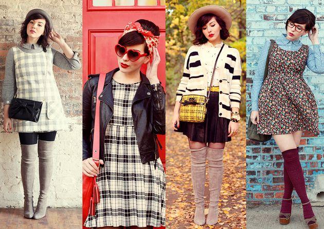 Fashion blog vintage dresses