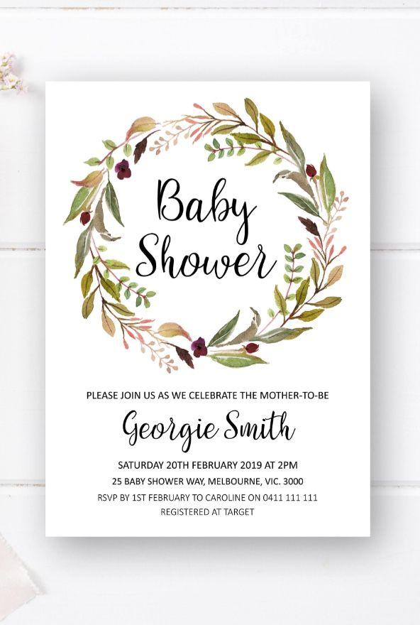 Baby shower invitation printable baby shower ideas baby shower in baby shower invitation printable baby shower ideas baby shower invite from pink summer designs filmwisefo