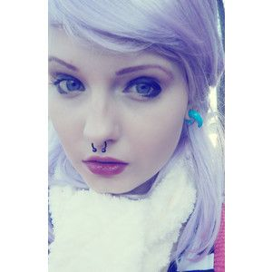 ITT Girls with septum piercings - Polyvore