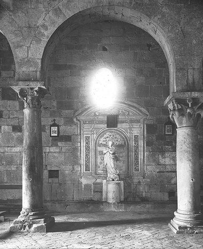 All sizes | Pieve Vecchia, Santa Maria del Giudice, Italy, 1895., via Flickr.