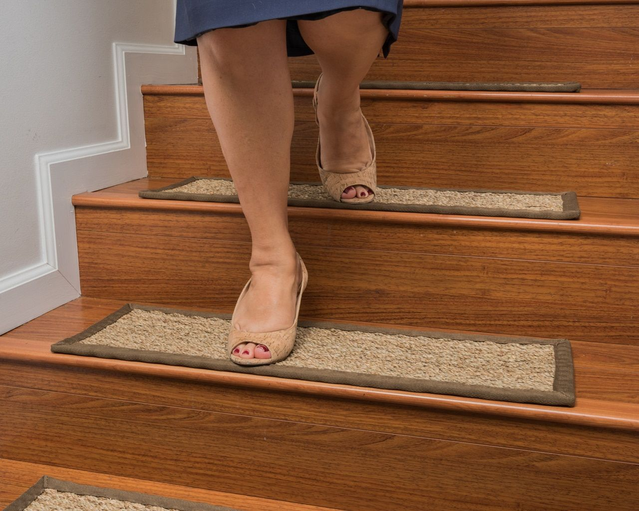 Best Top Quality Sisal Stair Treads Seagrass Stair Treads 640 x 480
