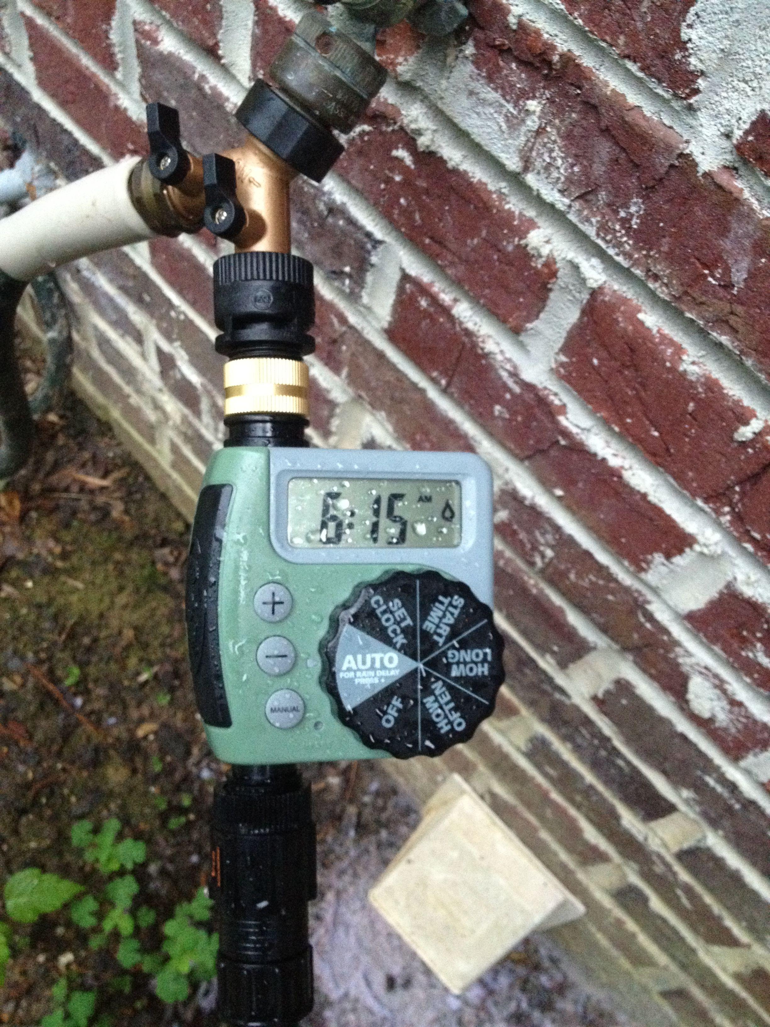 sprinkler timer orbit irrigation