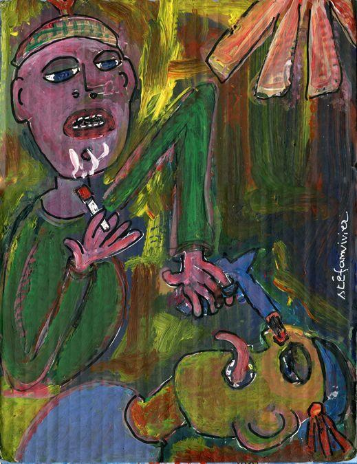 Une autre peinture de Stéphane Vivier