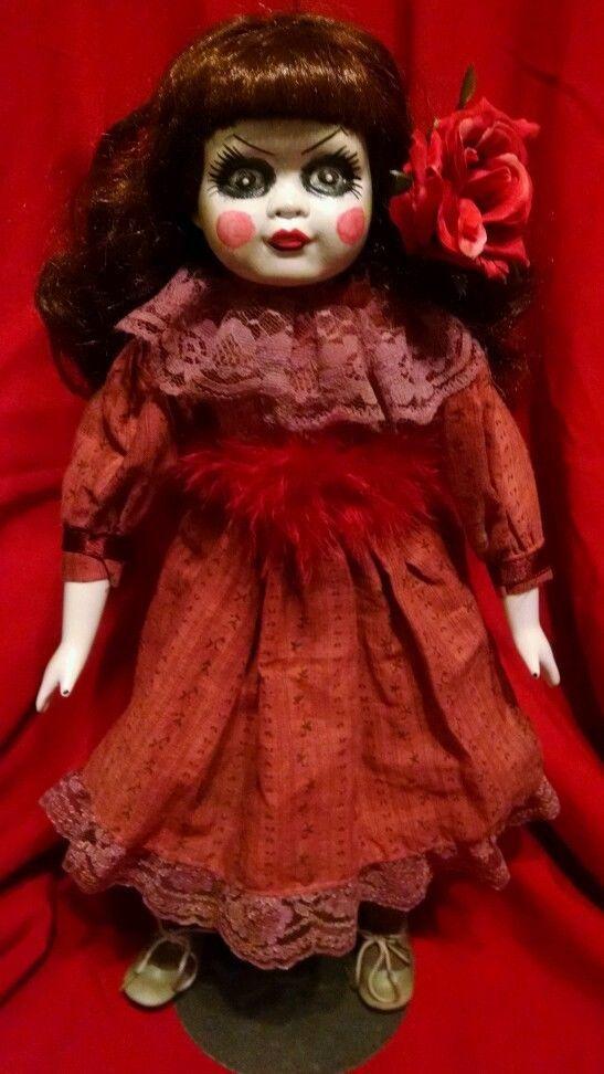 "OOAK 15.5"" Reborn,Creepy Scary , Porcelain , Doll - Reborn by me  "" jM"""