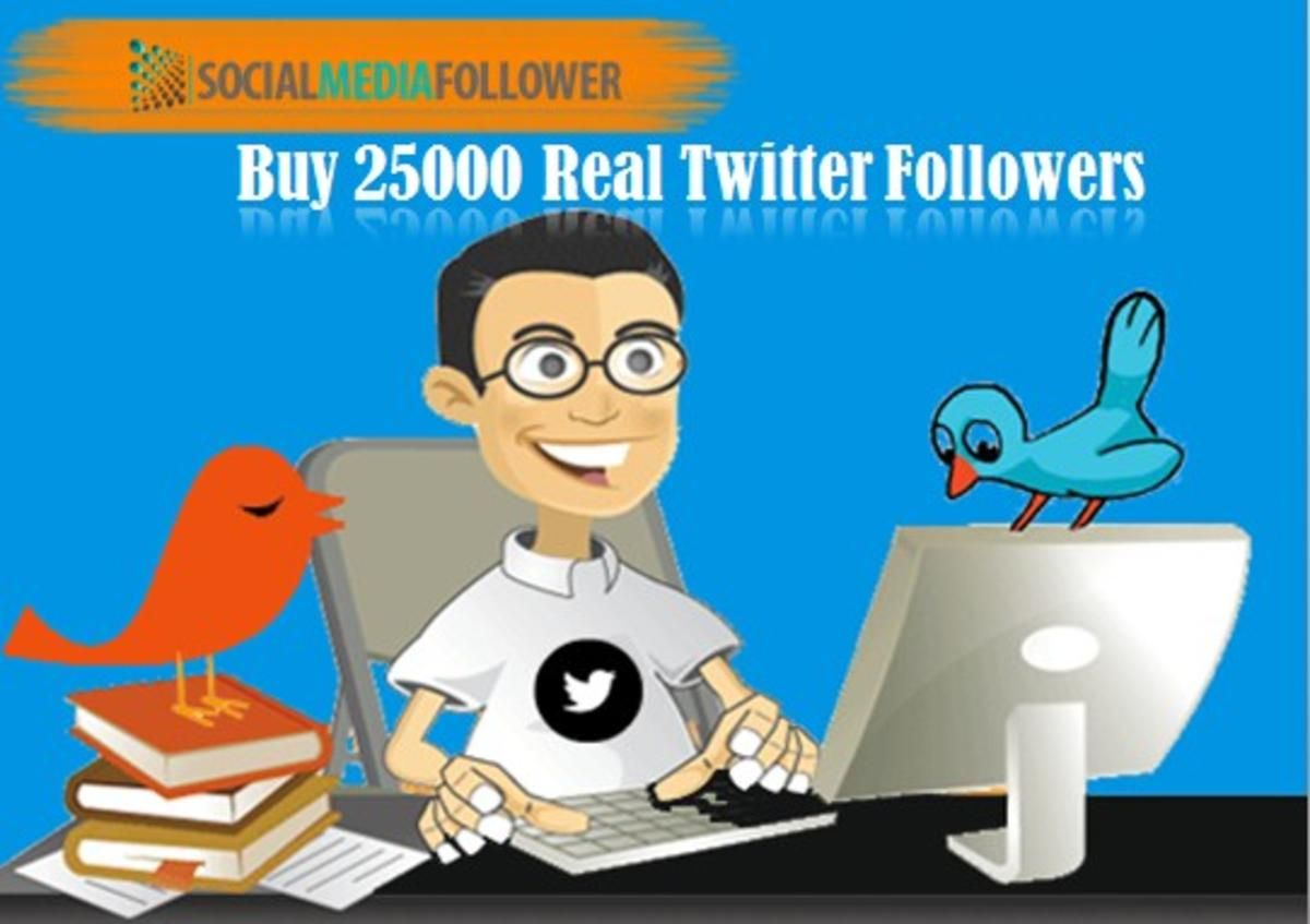 Buy 25000 Real Twitter Followers Online and Celebrate Your
