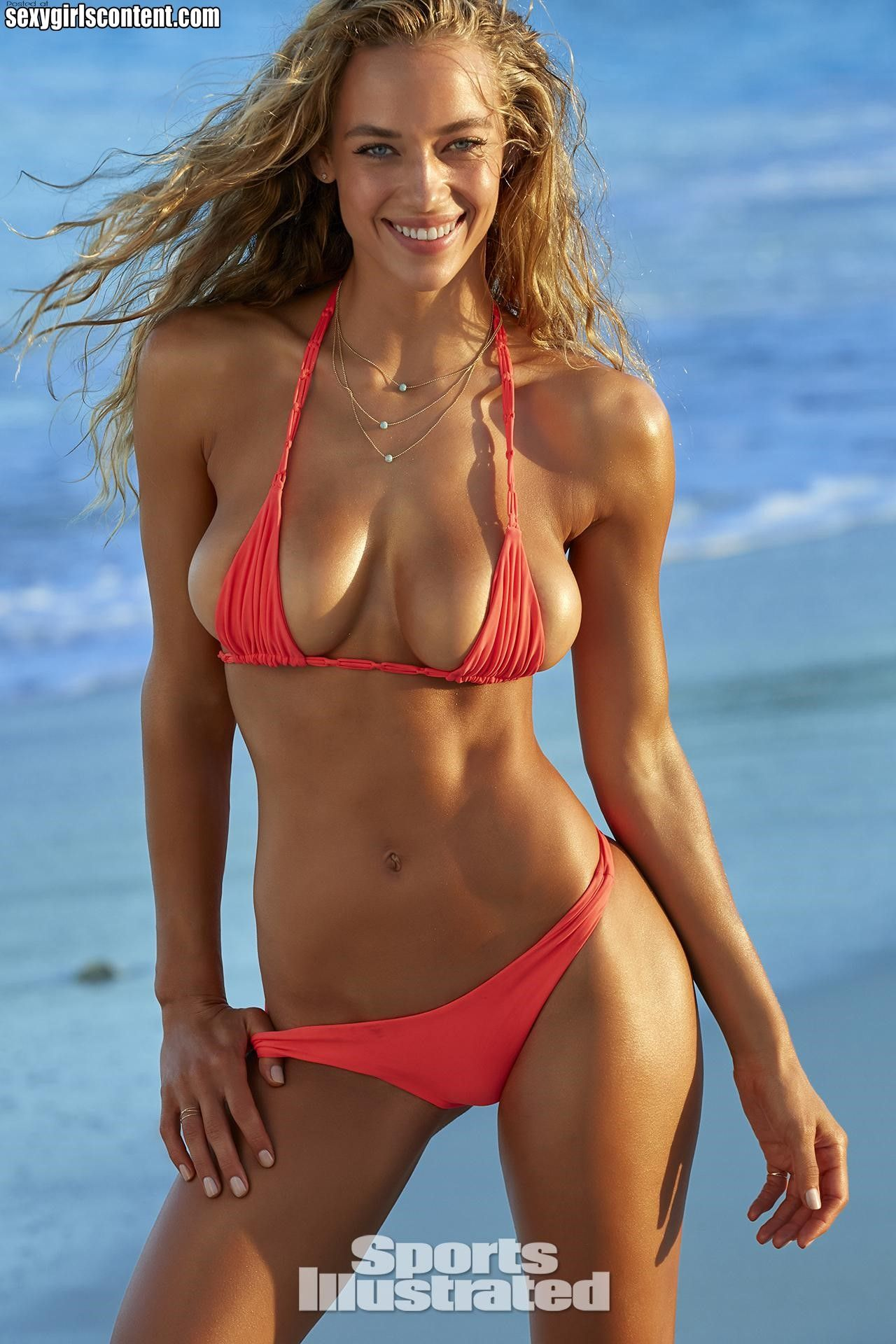 9 hot bikini babe hannah ferguson beautiful smile nice natural