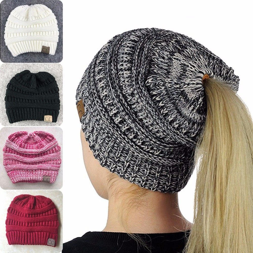 Unisex Hiking Caps Beanies Knit Winter Hat Men Women Sports Caps Stripe  Knitted Sportswear Female Windproof da4c868270cc