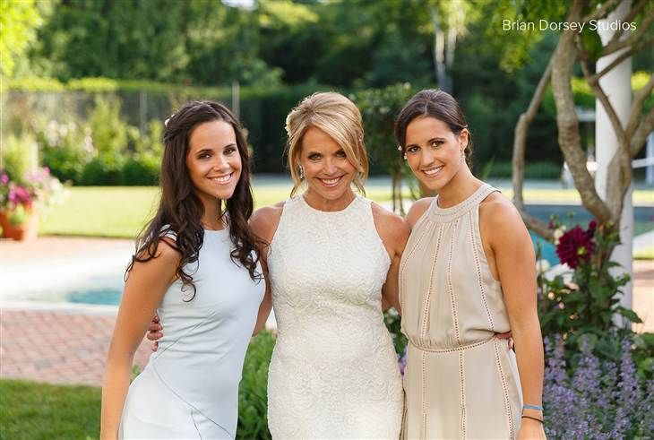 Newlywed Katie Couric Shares Beautiful Backyard Wedding Pictures Katie Couric Backyard Wedding Katie Couric Style