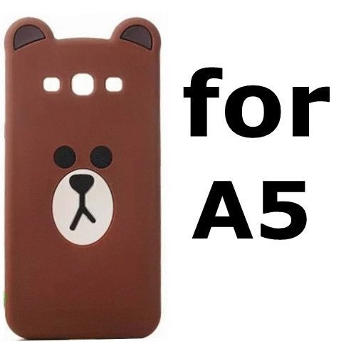 Luxury 3d cute cartoon bear & rabbit ultra thin protective cover case for samsung galaxy S3 S4 S5 S6 edge S7 note 3 4 5 A5 A7 A8