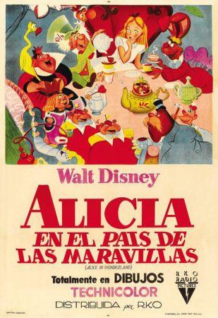 Vintage Spanish Alice in Wonderland (1951) Posters at AllPosters.com