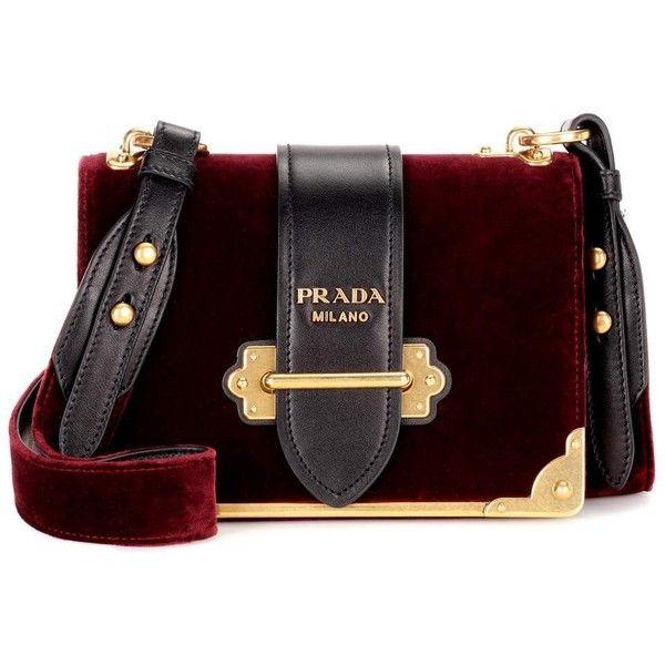 51ad175fc35e Prada Cahier Velvet Shoulder Bag ( 2