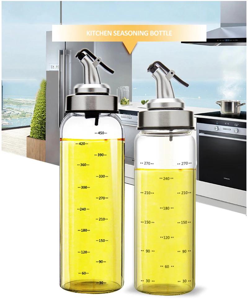 kitchen oil dispenser bottles for olive oil vinegar condiments sauce storage glass bottles with on kitchen organization oil and vinegar id=63892
