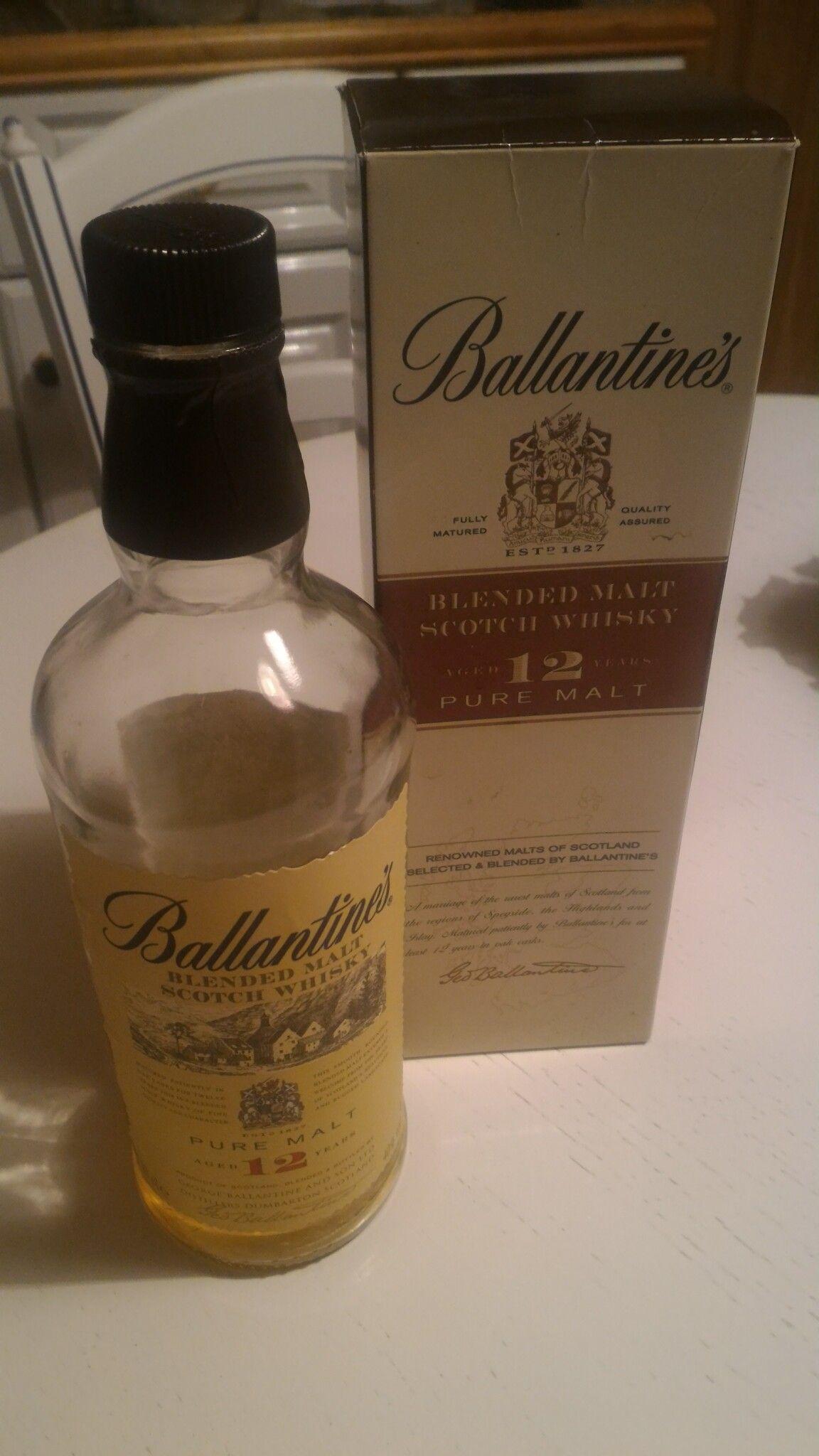 Ballantine S Blended Malt 12 Years Scotland Whisky Tasting Malt Whisky