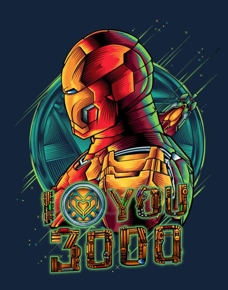 I Love You 3000 Iron man fan art, Iron man art, Marvel