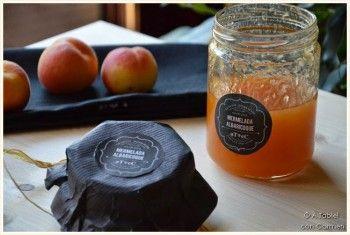 Mermelada de Albaricoque y cómo diseñar unas bonitas Etiquetas