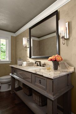 Photo of Casa Verde Design – traditional – powder room – minneapolis – Casa Verde Design