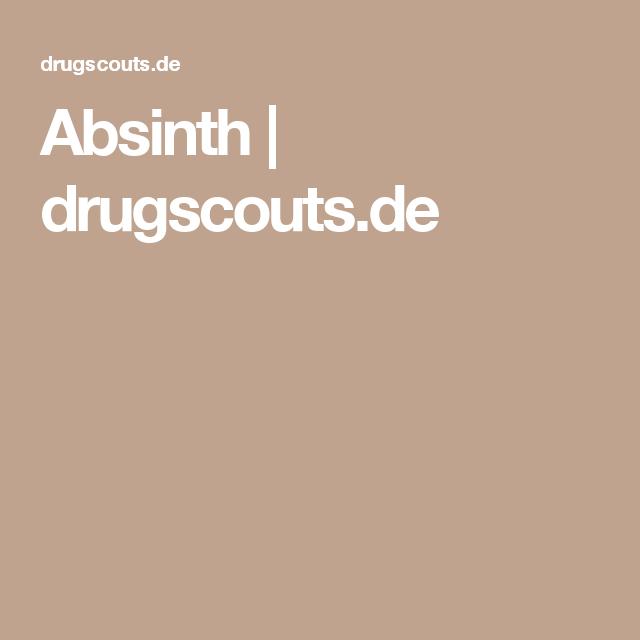 Absinth | drugscouts.de