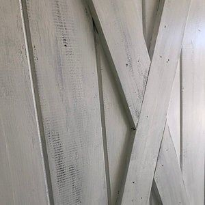 TWO Sliding Barn Doors Industrial | Etsy | Barn doors ...