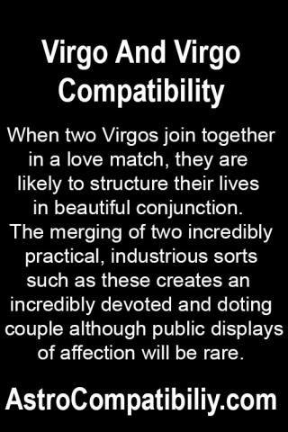 Two virgos in love