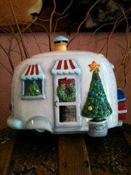Girl Camping This N That From Our Latest Road Trip Christmas Cookie Jars Cookie Jars Vintage Christmas Jars