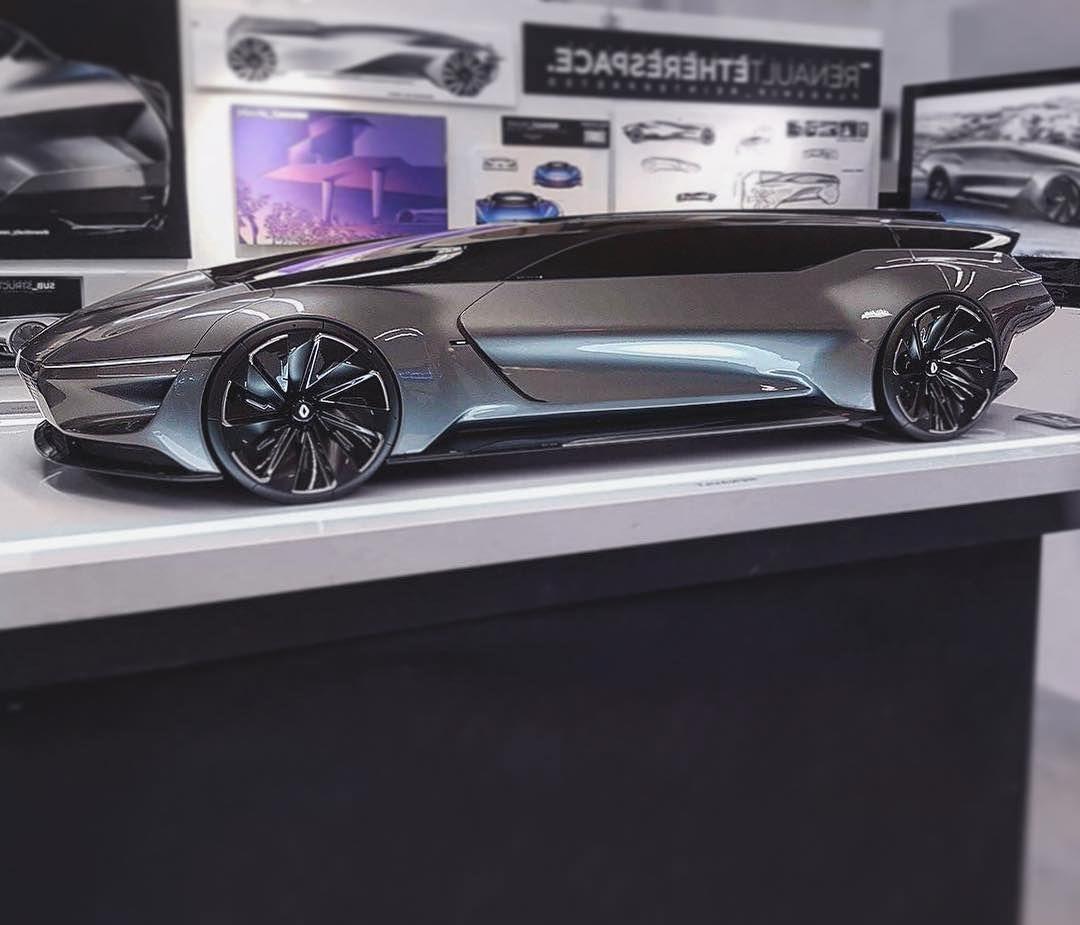 Cardesignworldrenault Etherespace By Erik Saetre Eriksaetre From Hs Pforzheim Cardesign Car Design Cncmill Concept Car Design Car Design Automotive Design