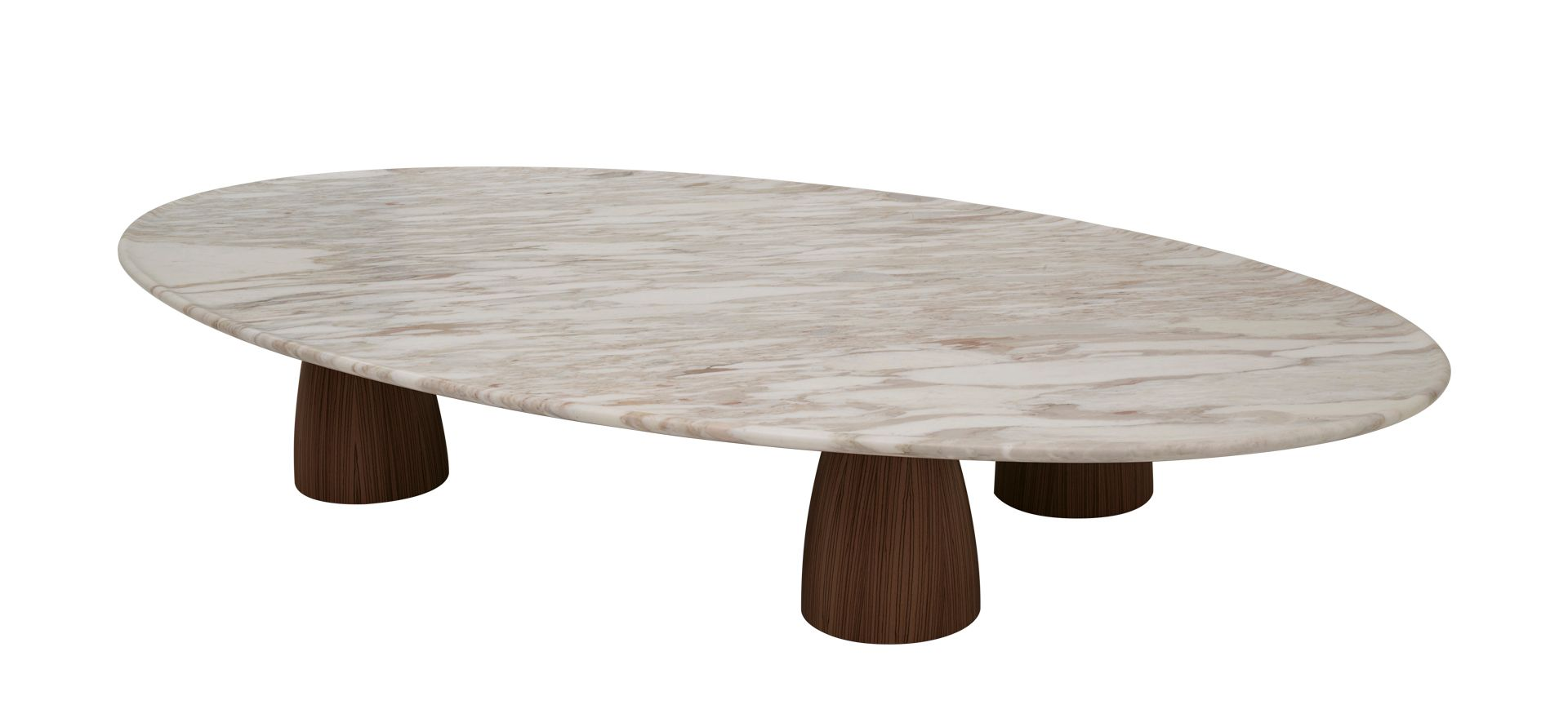 Lunique Is A Coffee Table With Wooden Legs And Marble Top From Promemoria S Amaranthine Tales Collection Coffee Table Calacatta Gold Marble Italian Furniture [ 880 x 1920 Pixel ]