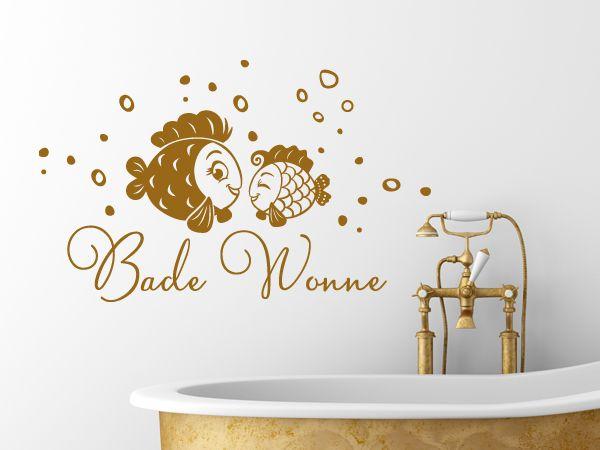 Süsses Wandtattoo fürs Badezimmer | Wandtattoo Ideen Bad ...