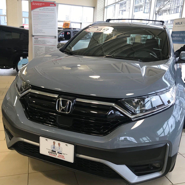New!2020 Honda CRV Sport Trim Honda cr, Honda, New cars