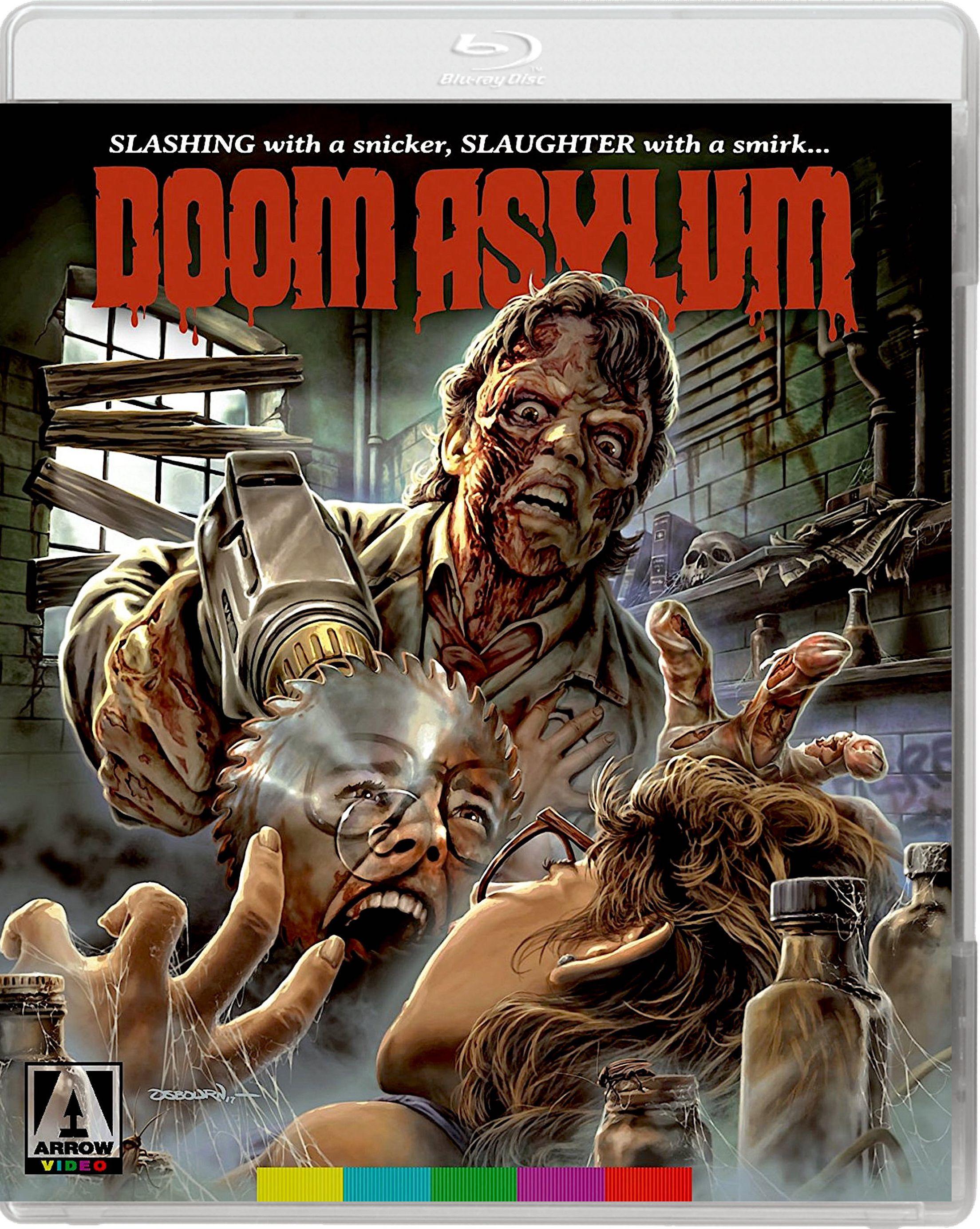 DOOM ASYLUM BLURAY (ARROW US) Horror movie posters