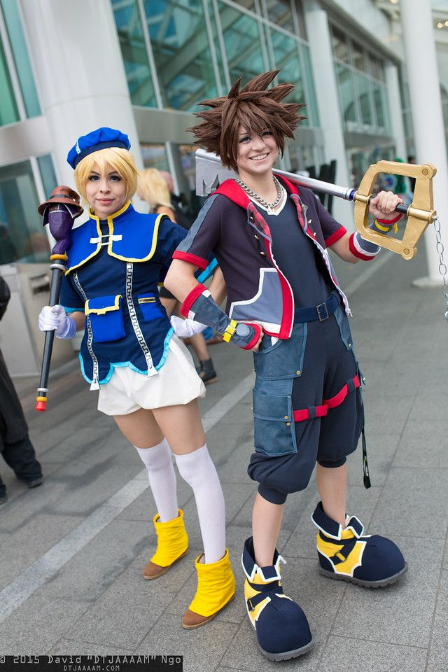 Kingdom hearts cosplay