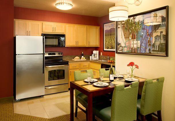 Marriott - Residence Inn - Two Bedroom Suite Kitchen | Two ...