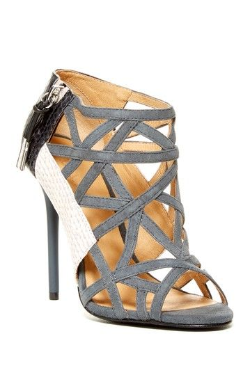 356a402e623 L.A.M.B. Flower Caged Sandal | Shoe-session | Zapatos, Tacones, Bolsos