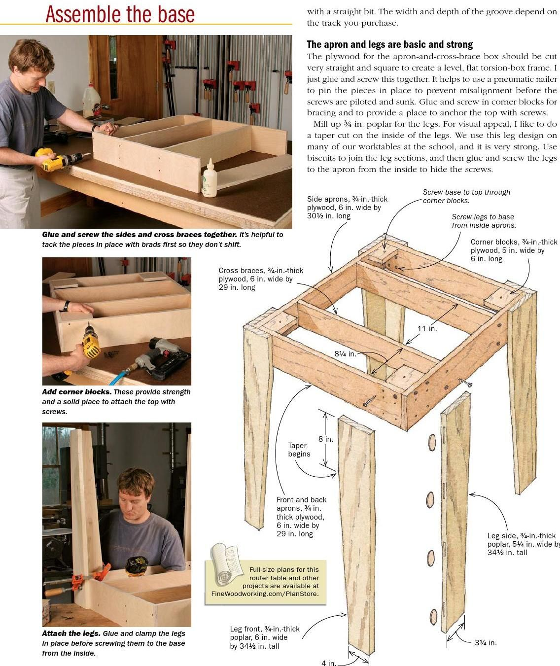 Homemade router table top  Rock solid router table  Router table