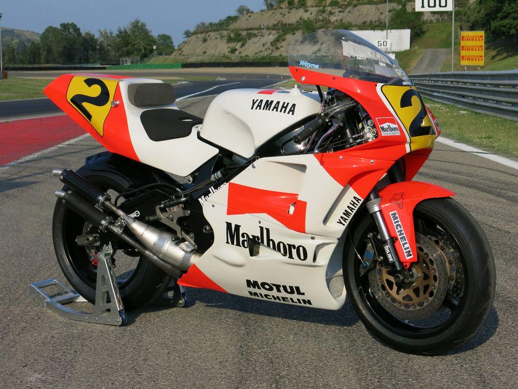 Yamaha YZR 500 0WC1 | Peinture moto, Vélo de course, Moto