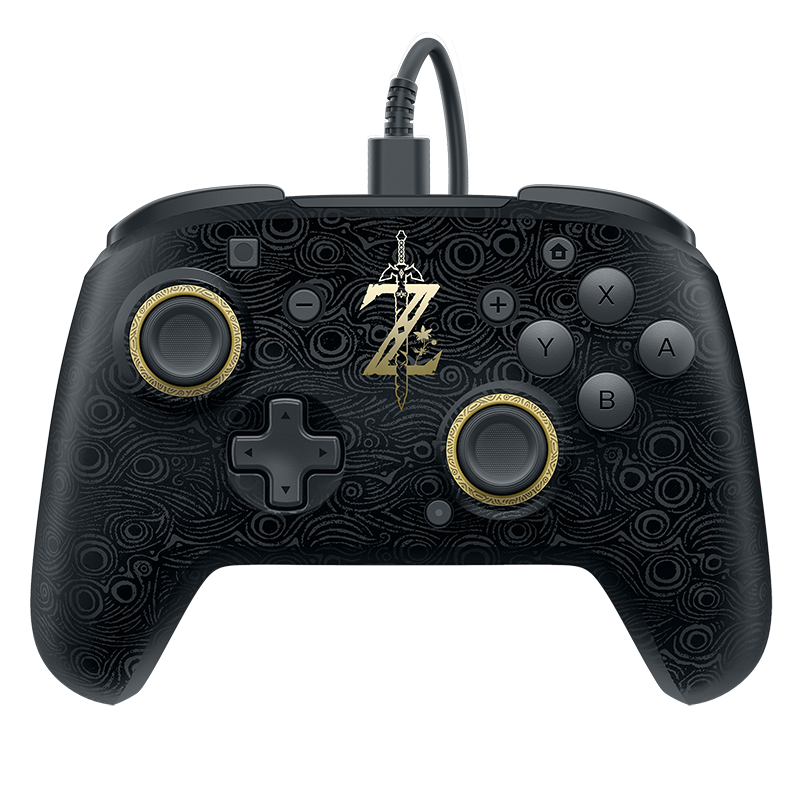 Faceoff Deluxe Wired Pro Controller Breath Of The Wild Edition Nintendo Switch Zelda Nintendo Switch Nintendo