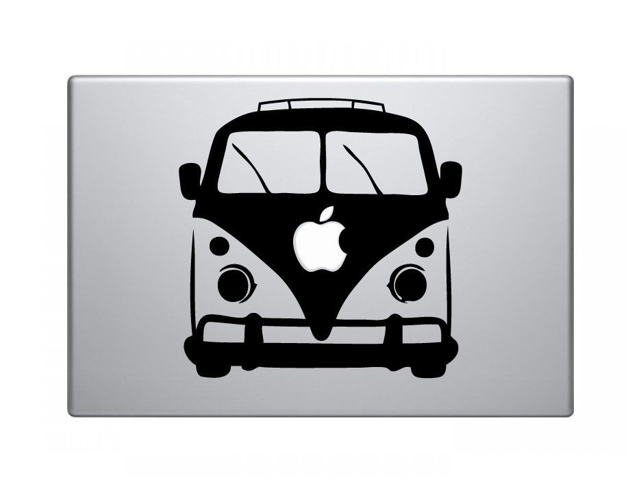 VW Bus Custom MacBook Decal Via Etsy Gift Ideas Pinterest - Custom vinyl decals for macbook pro
