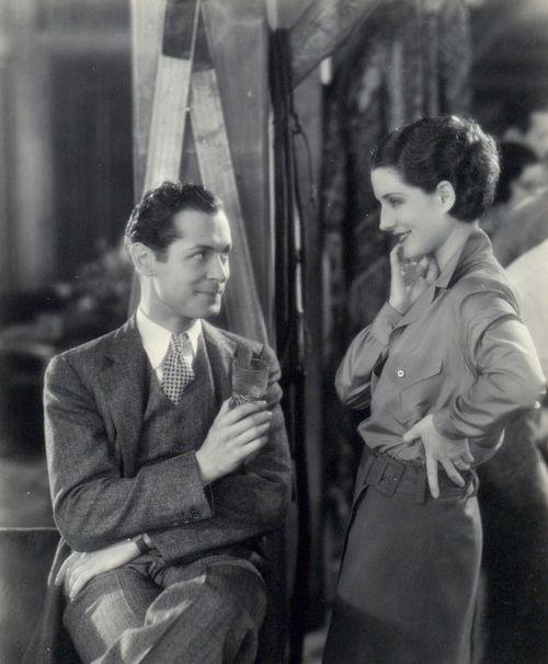 Robert Montgomery and Norma Shearer