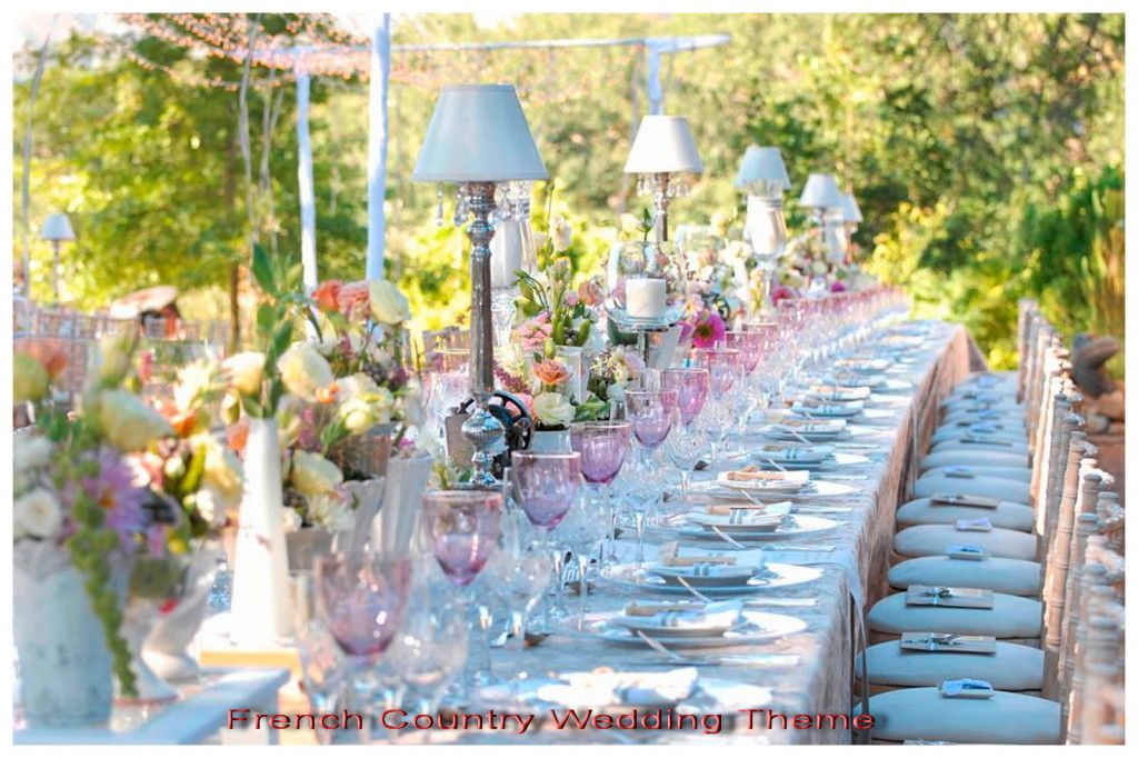 French Country Wedding Theme