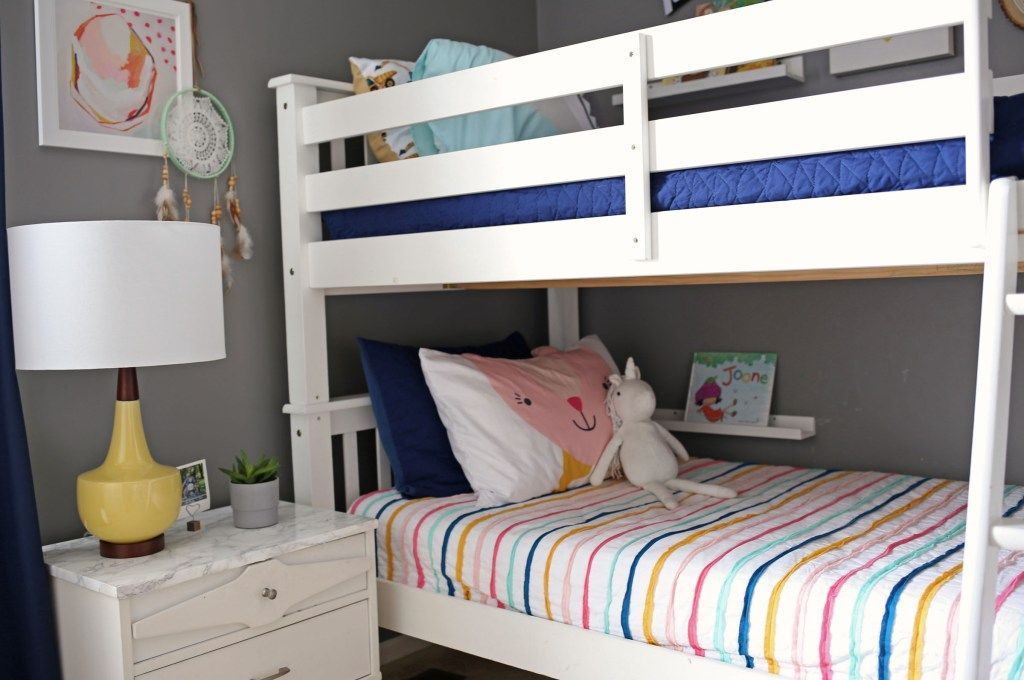 Boy & Girl Shared Bedroom | Bunkbeds | Hazelwood Homes | Boy and