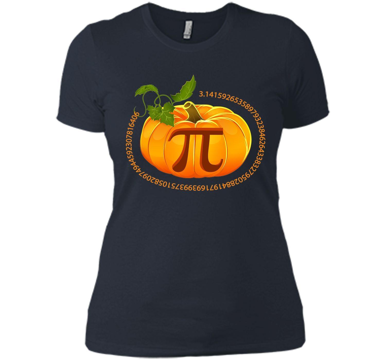 Funny Pi Pumpkin Pie Halloween T-Shirt