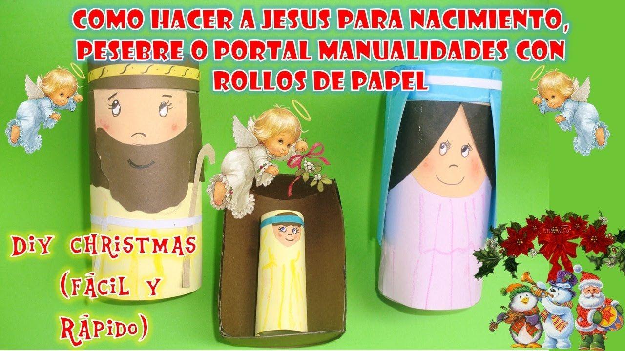 COMO HACER AL NIÑO JESUS EN SU PESEBRE PARA NACIMIENTO O PORTAL ...