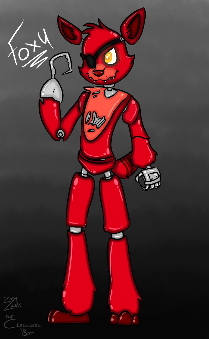 s Foxy freddy five at nights